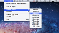 Network Speed Monitor for Mac