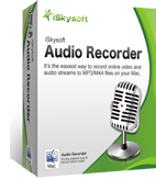 iSkysoft Audio Recorder for Mac boxshot