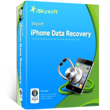 iSkysoft iPhone Data Recovery boxshot