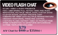 Video Flash Chat – Full Source Code Unlimited License discount coupon