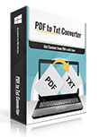 60% OFF PDFtoTxt Converter