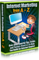 Internet Marketing From A-Z discount coupon