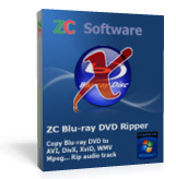 ZC Blu-ray DVD Ripper discount coupon
