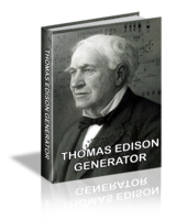 Thomas Edison Generator - Platinum Package Discounted