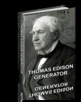 Thomas Edison Generator