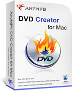 [>65% Off Coupon code] AnyMP4 DVD Creator for Mac