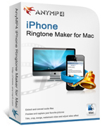 AnyMP4 iPhone Ringtone Maker for Mac