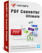 AnyMP4 PDF Converter Ultimate discount coupon
