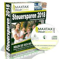 tax, MAXTAX Steuersparen 2018 Standard, startachim blog