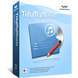 Wondershare TidyMyMusic for Mac boxshot