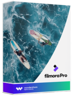 Wondershare FilmoraPro (Lifetime) boxshot