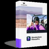 Wondershare FilmoraPro (Lifetime) boxshot