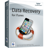 Wondershare Data Recovery for itunes boxshot