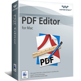 Wondershare PDF Editor for Mac boxshot