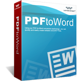 Wondershare PDF to Word Converter boxshot