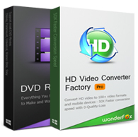 Buy WonderFox DVD Ripper Pro(+ Free Get HD Video Converter Factory Pro) discount coupon