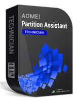 AOMEI Partition Assistant Technician + Lifetime Upgrades boxshot