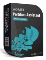 AOMEI Partition Assistant Professional + Lifetime Upgrades boxshot