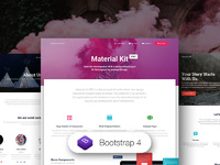 45% OFF Material Kit PRO - Bootstrap 4