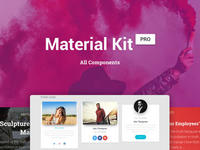45% OFF Material Kit PRO (PSD&Sketch)