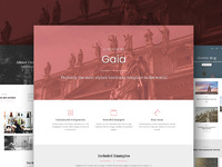 45% OFF Gaia Bootstrap Template Pro
