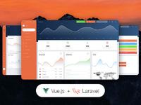 45% OFF Vue Now UI Dashboard PRO Laravel