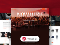 45% OFF Now UI Kit PRO Angular
