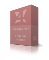 Regular PHP Admin Panel discount coupon