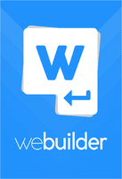 See more of WeBuilder 2018 Personal