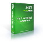 cheap Html To Excel .NET - Site License