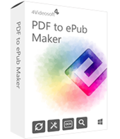 4Videosoft PDF to ePub Maker discount coupon