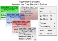 Southside Solutions Word of the Day discount coupon