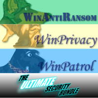 >20% Off Coupon code Ultimate Bundle, Single user license for WinAntiRansom, WinPatrol and WinPrivacy Subscription