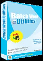 25% OFF Batch Word Utilities