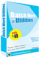 Batch Word Utilities discount coupon