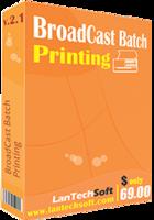 BroadCast Batch Printing discount coupon