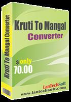 Kruti to Mangal Converter discount coupon