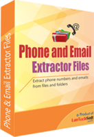 cheap Phone and Email Extractor Files