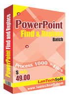 Powerpoint Find and Replace Batch discount coupon