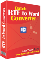 Batch RTF to Word Converter discount coupon