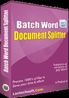 25% OFF Batch Word Document Splitter