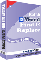 Batch Word Find & Replace discount coupon