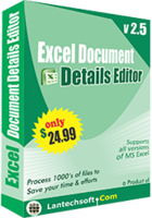 Excel Document Details Editor discount coupon