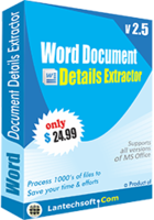 >20% Off Coupon code Word Document Details Extractor