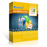 20% OFF Kernel for MBOX to PST  - Home User 1 Year License