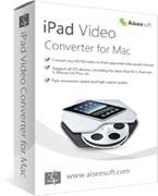 Aiseesoft iPad Video Converter for Mac boxshot