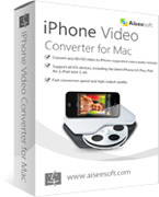 Aiseesoft iPhone Video Converter for Mac boxshot