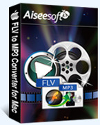 Aiseesoft FLV to MP3 Converter for Mac boxshot