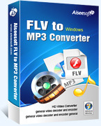 Aiseesoft FLV to MP3 Converter boxshot