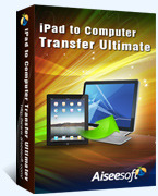 Aiseesoft iPad to Computer Transfer Ultimate boxshot